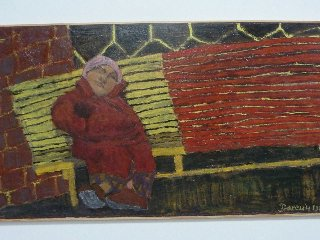 un banc, 1984 (160x87) - c Bd Perroy