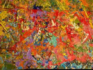 D.Lefevre-palette de la peintre Leslie Xuereb-Chartres-2004